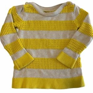 Baby Gap Rugby Striped Sweater Size girls 4yrs